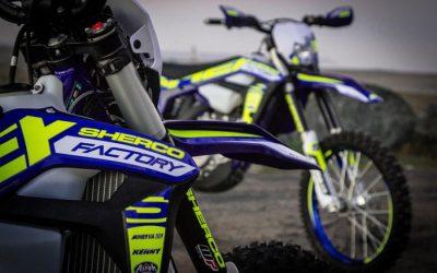 Megérkeztek a 2017-es Sherco Factory motorok