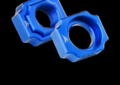 Láncfeszítő kék színben