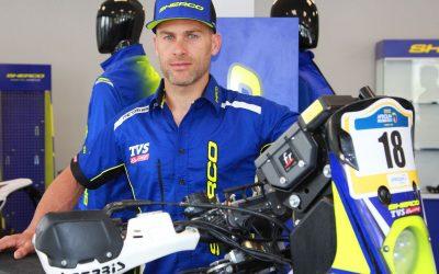 MICHAEL METGE: A Sherco TVS Rally Team legújabb tagja