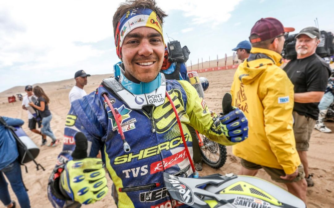 Lorenzo Santolino kiemelkedő helyezése a maratoni szakaszon