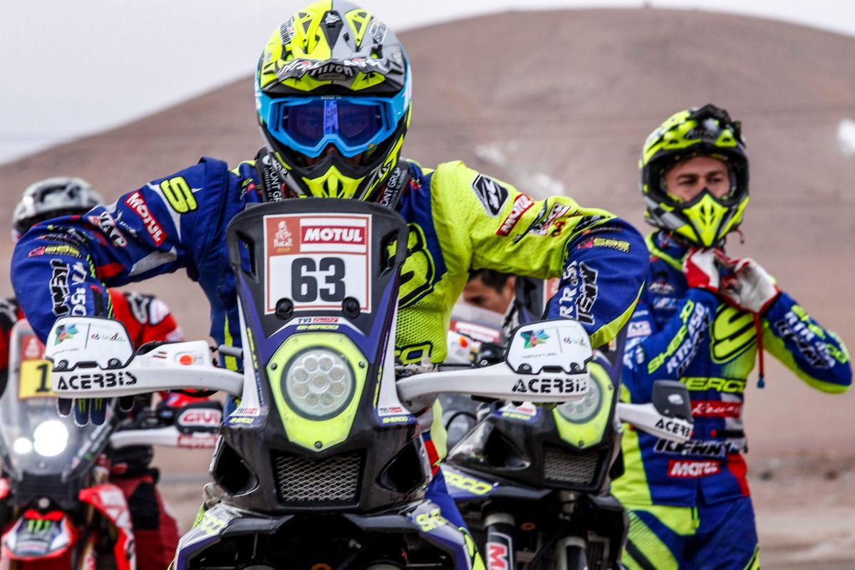 Lorenzo Santolino kiemelkedo helyezese a maratoni 2019-es Dakar szakaszon (2)