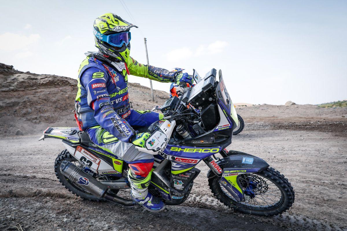 Lorenzo Santolino kiemelkedo helyezese a maratoni 2019-es Dakar szakaszon (3)
