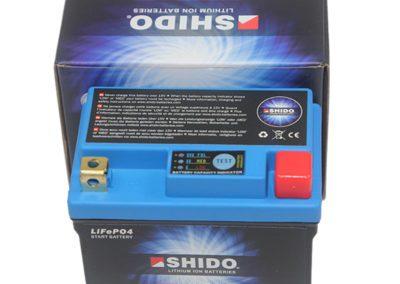 Shido LION LTZ5S Akkumulátor