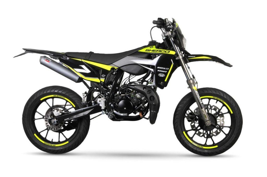 Sherco 50cc Silver SM-R 2020