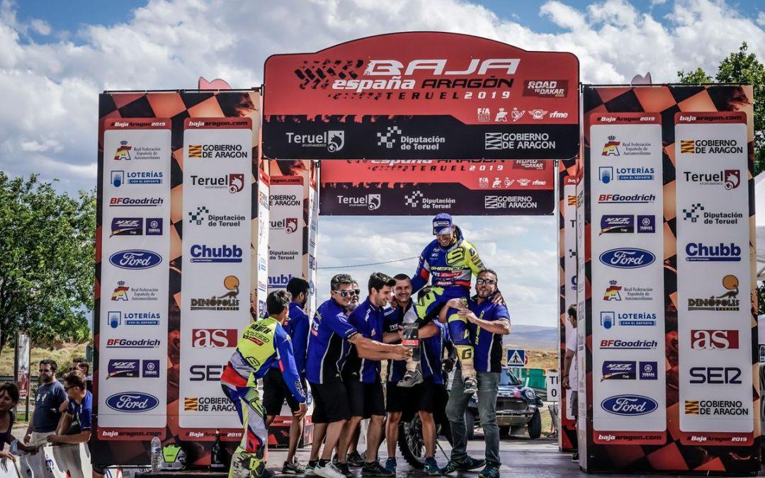 Michael Metge nyerte a Baja Aragon Rallyt