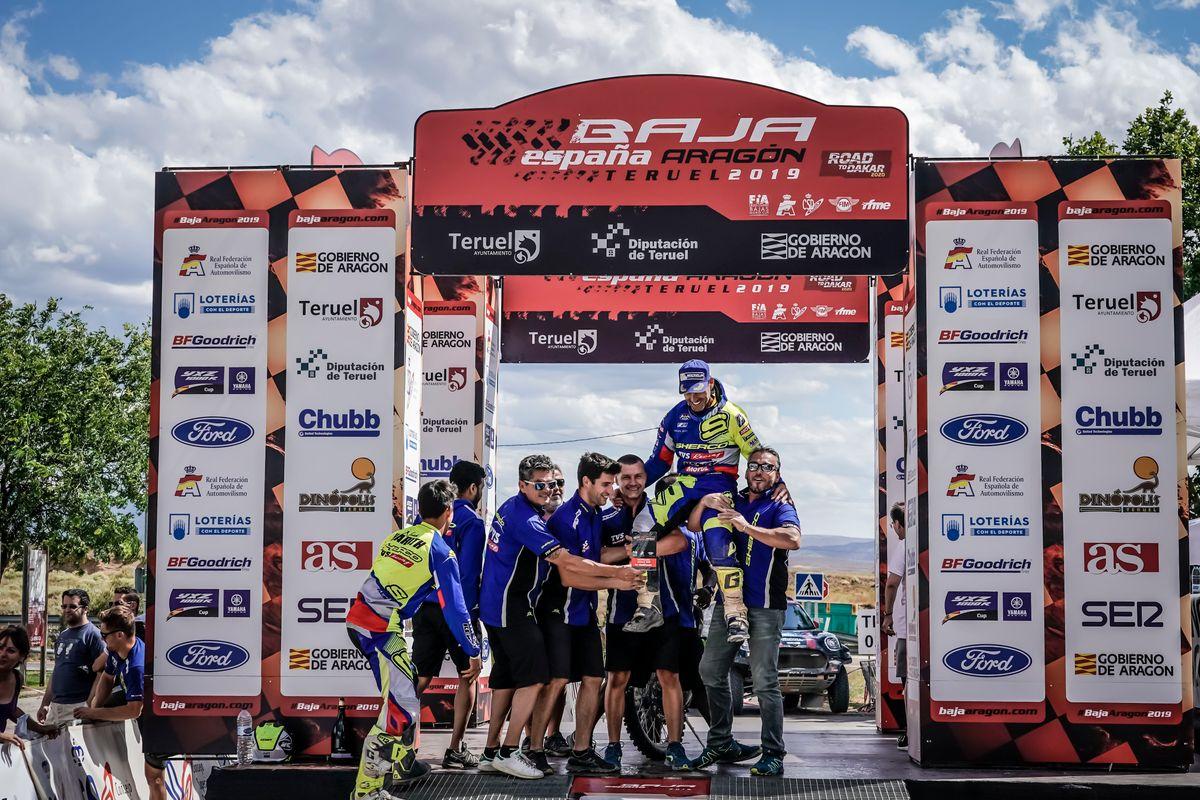 Michael Metge nyerte a Baja Aragon Rallyt 2019