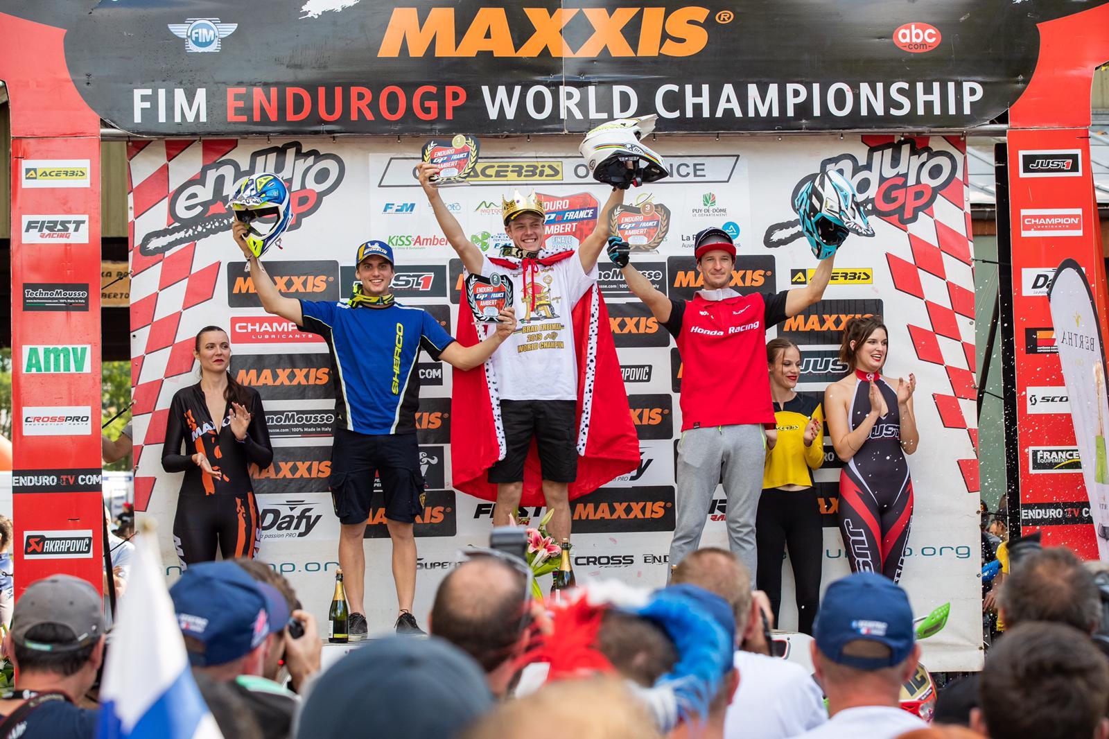 A Sherco csapat Amertben járt, a 2019-es Enduro GP utolsó versenyén (5)