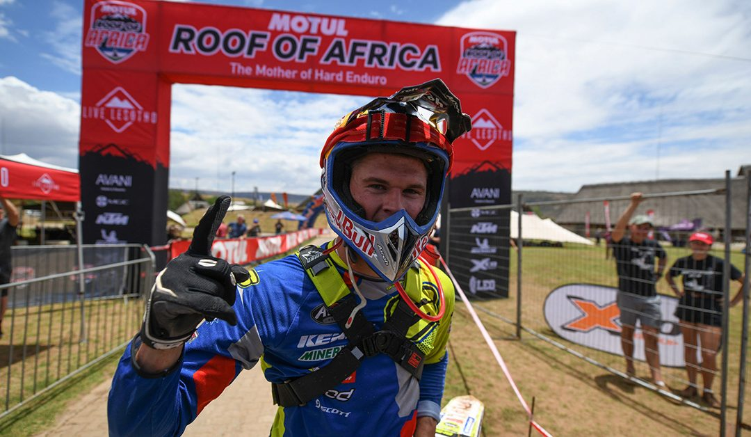 Wade Young győzelem a 2019-es Roof of Africa Hard Enduro versenyen