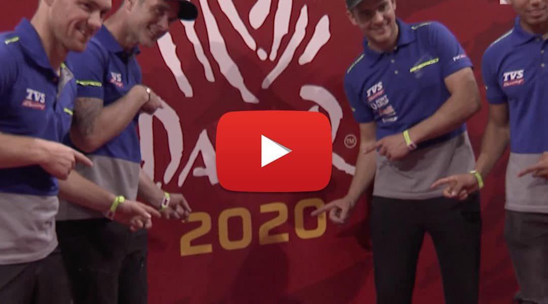 A Sherco TVS Rally csapat megkezdte a 2020-as Dakart – VIDEÓ