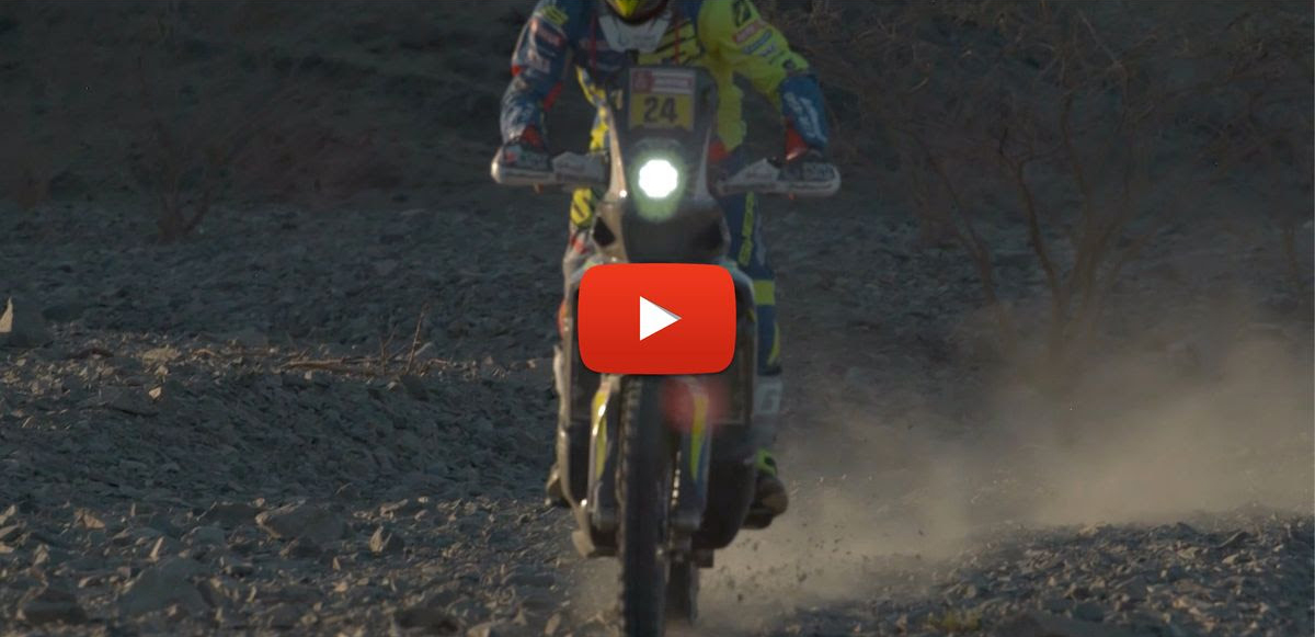 sherco tvs rally factory team dakar 2020 2-3 nap