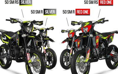 Új 50cc Sherco Silver és Red One modellek!
