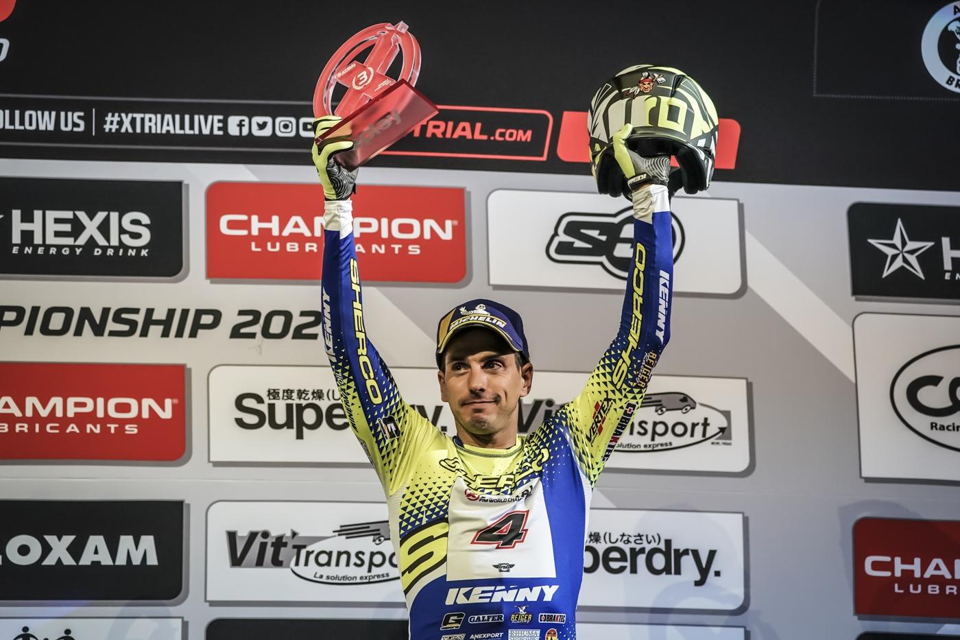 Lefujták az X-Trial világbajnokságot, Fajardo a világbajnoki harmadik