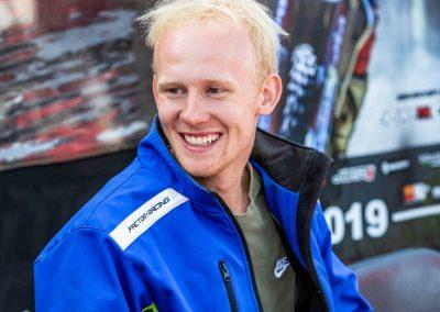 Hamish Macdonald nyeri az Új Zélandi Enduro bajnokságot
