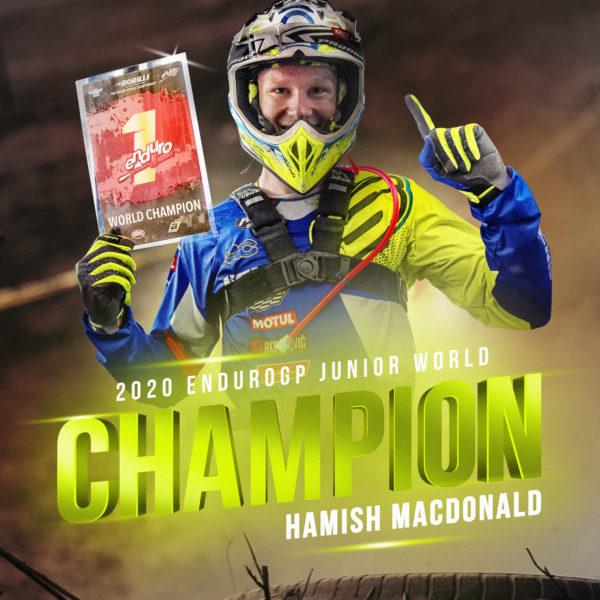 Hamish Macdonald Junior Világbajnok 2020-ban