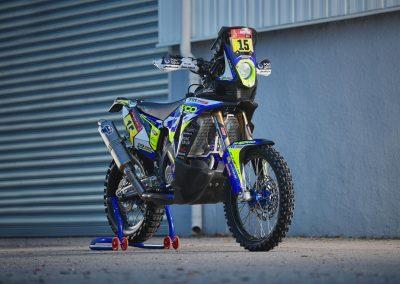Lorenzo Santolino Sherco 450 SEF Rally motorkerékpárja
