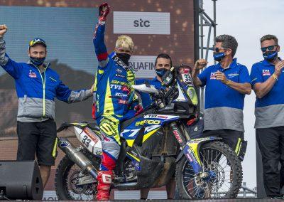 Harith Noah gyönyörű eredménnyel végül a 20. helyezést érte el a 2021-es Dakar Rally-n