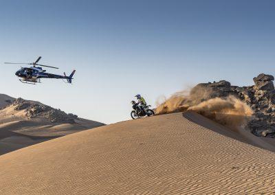 Lorenzo Santolino utolsó napja a sivatagban - Dakar 2021