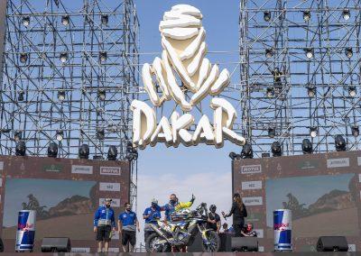 Rui Goncalves célbaérkezése - Dakar 2021
