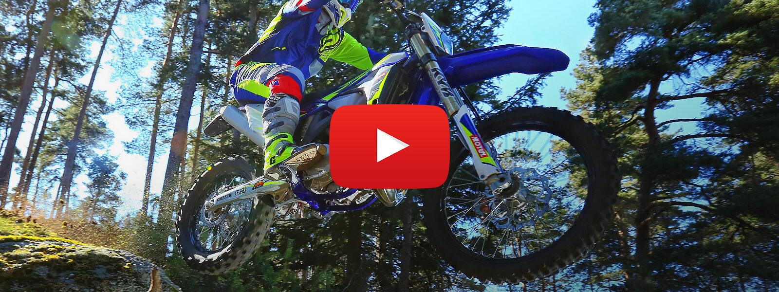 Videón az új ENDURO motorok - SHERCO MY2022